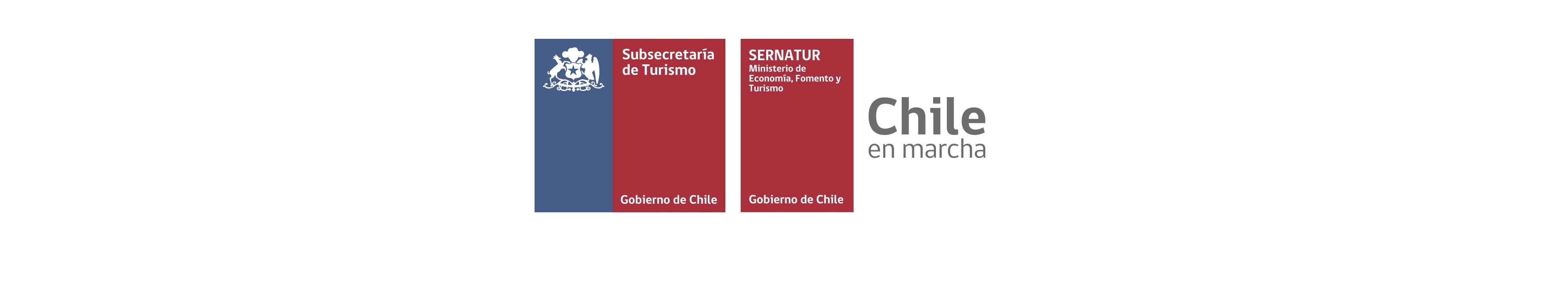 Logos Sernatur y Subsecretaría de Turismo